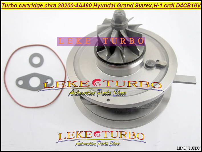 Turbo Cartridge CHRA BV43 28200-4A480 53039700145 53039700127 5303970 0145 For Hyundai Grand Starex CRDI H-1 2.5L D4CB 16V 170HP kkk turbo bv43 53039880144 53039880122 chra turbine 28200 4a470 turbocharger core cartridge for kia sorento 2 5 crdi d4cb 170 hp