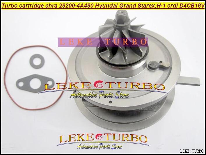 Turbo Cartridge CHRA BV43 28200-4A480 53039700145 53039700127 5303970 0145 For Hyundai Grand Starex CRDI H-1 2.5L D4CB 16V 170HP