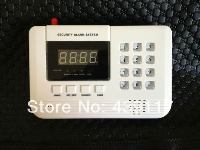 Ll b2011 gsmpstn wireless sound and light security home alarm ll b2011 gsmpstn wireless sound and light security home alarm system with led display and mozeypictures Gallery