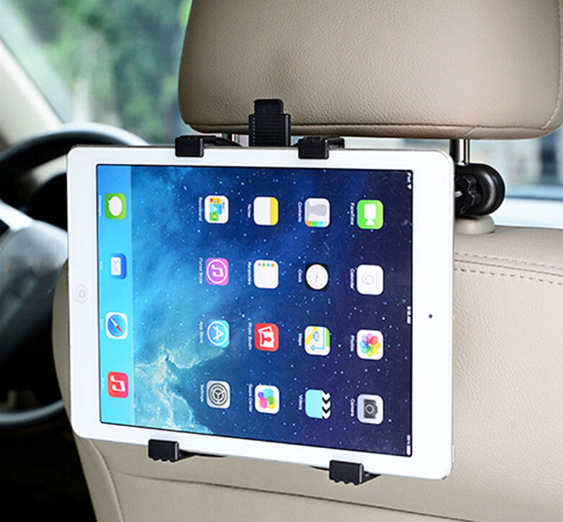 Headrest Back Seat Windshield Suction Tablet Car Holders Stands For Huawei MediaPad M2 10.0,MediaPad M5 10 (Pro),MediaPad M5 8