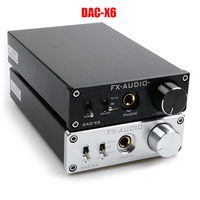 FX AUDIO DAC X6 HiFi 2 0 Digital Audio Decoder DAC Input USB Coaxial Optical Output