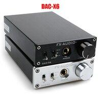 FX AUDIO DAC X6 HiFi 2.0 Digital Audio Decoder DAC Input USB/Coaxial/Optical Output RCA/ Amplifier 24Bit/96KHz DC12V