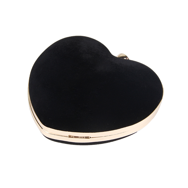 Heart Shaped Clutches Evening Bags 3
