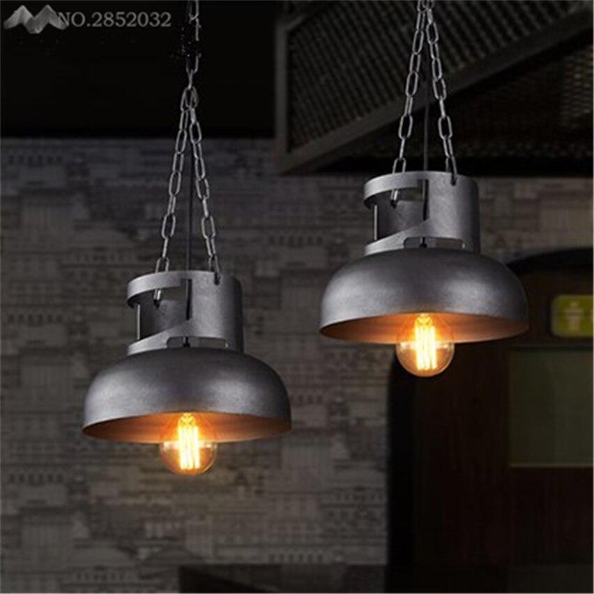 JW Amerikanischen Retro Loft Gasflaschen Pendelleuchten Eisen Fr Wohnzimmer Restaurant Bar Kche Leuchten