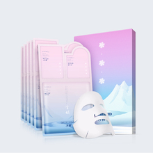 Gentle Cleansing Soothing Moisturizing Facial Mask Three Curved Film Portable Lazy Pregnant Women (2g+2g+25ml)*6