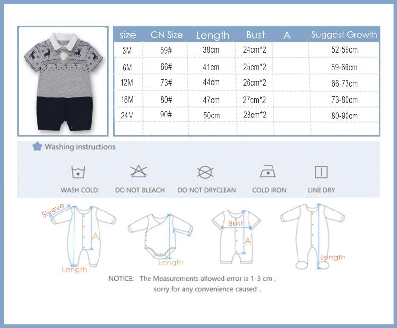 Noworodek Ubrania dla dzieci Garnitur Letnie Wspinaczka Odzież - Odzież dla niemowląt - Zdjęcie 6