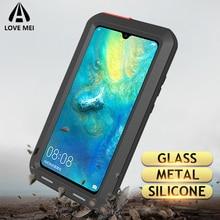 Love Mei Metal Case For Huawei