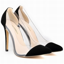 Womens Patent Leather High Heels Corset Pointed Toe Party Pumps Ladies Wedding Shoes  302-27VE