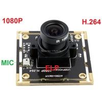 6pcs 2Megapixel 1920*1080 2.1 /2.8/3.6/6/8/12mm lens different view angle mini camera module usb H.264 MJPEG YUY2 video output