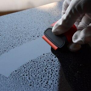 Image 3 - FOSHIO 車ツールかみそりスクレーパー炭素繊維ビニールステッカーリムーバーラップスキージスクレーパー自動車ラッピング箔アクセサリー