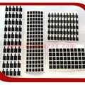 200 pçs/lote anti-estático a dissipação de calor film adesivo para iphone 6 6g 4.7 lcd assembléia tela parte qr code