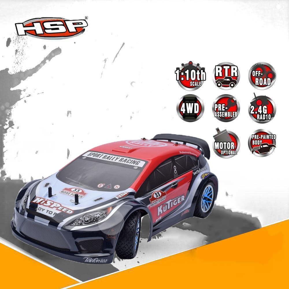 High Speed Drift Car Kid Toys HSP Rc Car 1/10 Scale 4wd Electric Power Sport Rally Racing Car 94118PRO Remote Control Car картридж сменный для фильтра bestway 1249 л час 2 шт 58093
