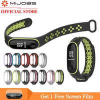 Mi jobs mi Band 4 Bracelet de Sport Bracelet mi band 3 montre en Silicone pour Xiao mi Band 4 3 accessoires de Bracelet Smart mi band 3