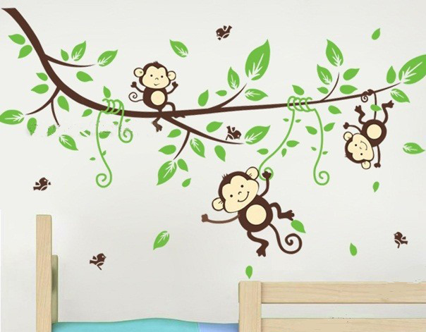 popular jungle animals decor buy cheap jungle animals giant lioness wall sticker see how you can create a