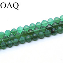 Ethnic Style Beads For Jewelry Making Smooth Natural Stone Bracelets For Women Wholesale Gifts Aqua Green Color Cornelian Beads(China)