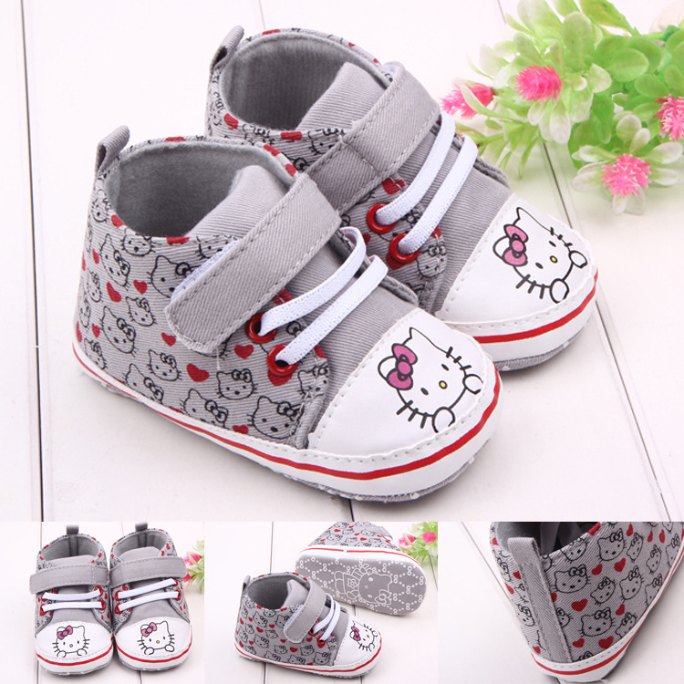 huge discount cf804 b9def One Pair of Retail Girls Shoes Hello Kitty New Born Baby ...