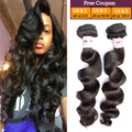 Peruvian Virgin Hair Loose Deep Wave 4 Bundles Peruvian Loose Wave Virgin Hair Queen Hair Products Human Hair Weave Bundles