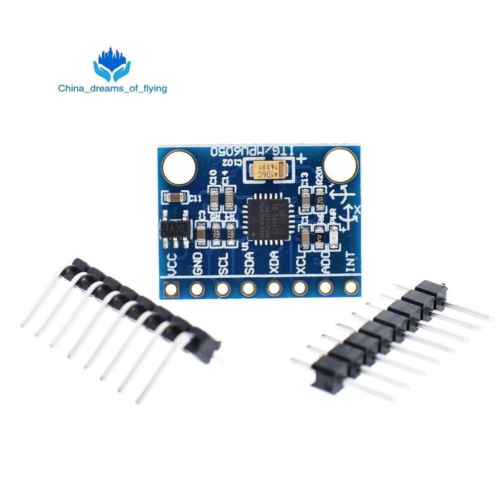 GY-521 MPU-6050 MPU6050 Module 3 Axis gyro sensors 3 Axis Accelerometer Module