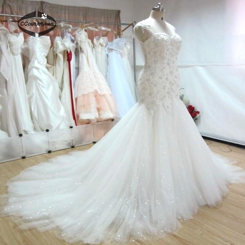 Plus Size Wedding Dresses WDC 004 Sleeveless Sweetheart White ...