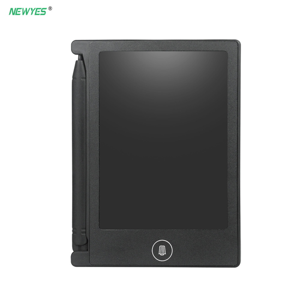 """NEWYES LCD Writing Tablet 4.4"""" Digital Drawing Electronic Handwriting Pad Kids Writing Board Children Gifts Message Board"""