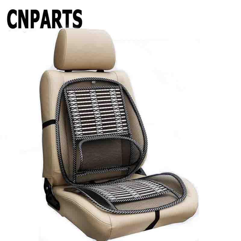 Cnparts Car Chair Sofa Cool Seat Covers Lumbar Support Cushions For Audi A4 B7 B5 A6 C6 Q5 Honda Civic 2006 2017 Fit Accord Crv
