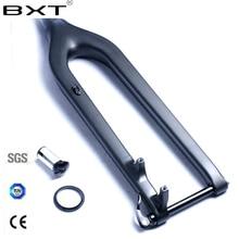 Plein carbone fourche de vélo 29er axe traversant 15mm rockshox vtt carbone fourche 29 rigide fourche carbone 29 suspension vélo de descente fourche 29