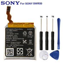 Original Replacement Sony Battery GB-S10-353235-0100 For SONY SW3 SWR50 3SAS Authentic Phone Battery 420mAh sony smartwatch 3 swr50 white смарт часы