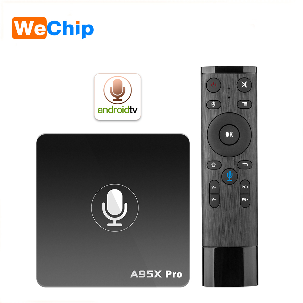 5PCS/LOT A95X Pro Android 7.1 (Android TV OS) TV Box S905W VP9 H.265 2GB+16GB WiFi LAN HD with 2.4G Voice Control 4k Media play ipremium ulive pro tv box android 8gb 4k ultra h 265 tv receiver with mickyhop os and stalker middleware support 10 url adding