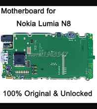 Well  worked unlocked Original  Motherboard  For  Nokia Lumia N8  motherboard  WCDMA  main board  Logic Board