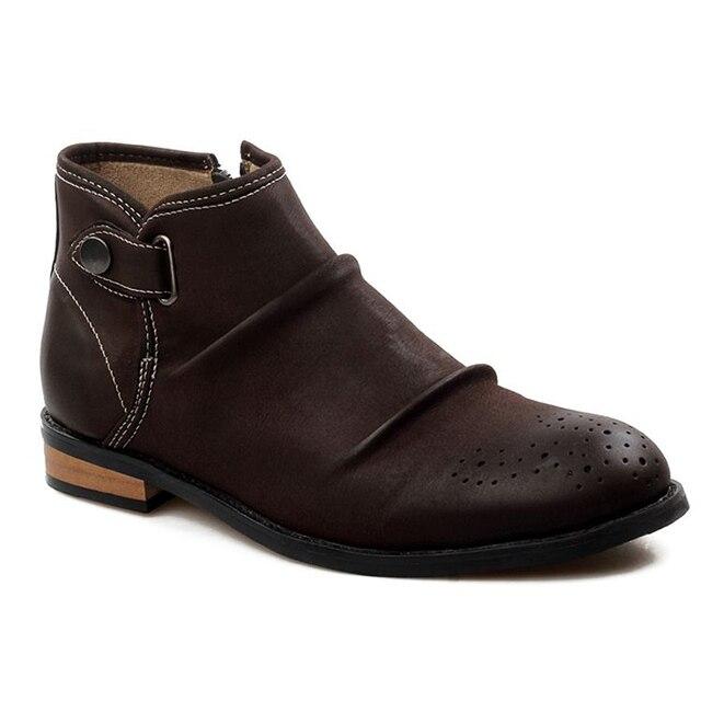 Мужчины Сапоги Острым Носом Мужчины Платье Торжественная одежда Свадебные Туфли Мокасины Sapato Masculinos Социальные Обувь