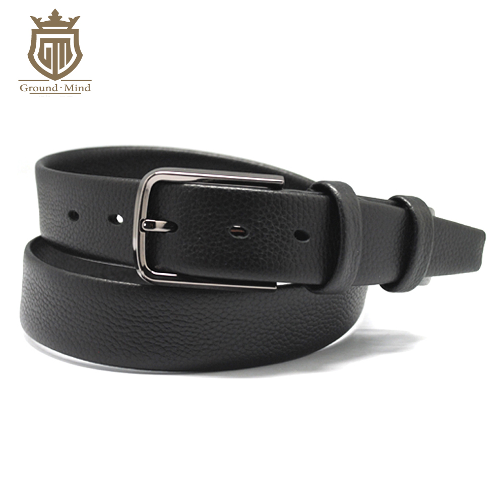 2018 Hot Soft Leather Belts For Men Male With Top Quality Pin Buckle Casual Business Style 95-130CM SMT014