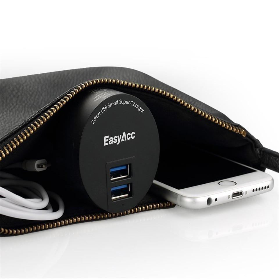 EasyAcc 3.4 USB լիցքավորիչ 2 Port Portable Dual USB - Բջջային հեռախոսի պարագաներ և պահեստամասեր - Լուսանկար 4