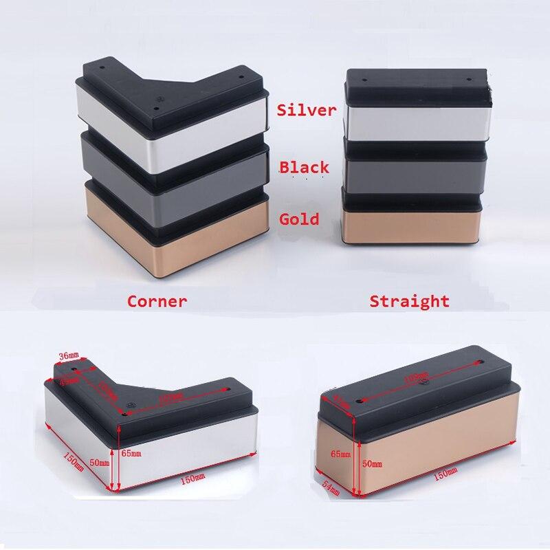 2Pcs/Lot Square Corner Sofa Furniture Feet Foot Leg Coffee Tea Bar Foot  Furniture Accessories  - AliExpress