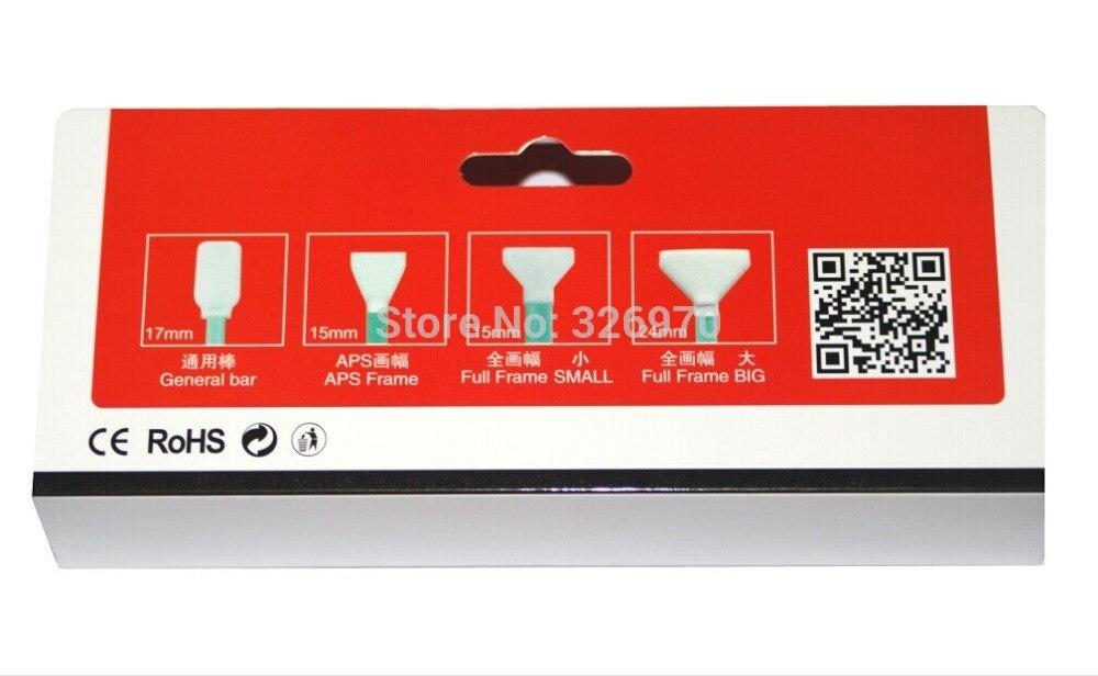 Сенсор очистки комплект 8 шт./кор. сухой и влажной тампон CMOS CCD для Камера Tablet PC ноутбук Бесплатная доставка + номер отслеживания