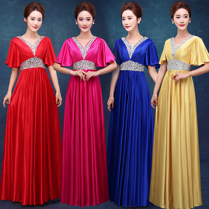 2019 new arrival stock maternity plus size bridal gown pregnant evening dress red pink blue gold sexy a line long bling LD1621