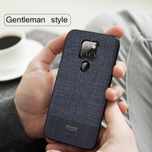 MOFi Suit Fabrics with Silicone Edge Case for Huawei Mate20, Mate20Pro