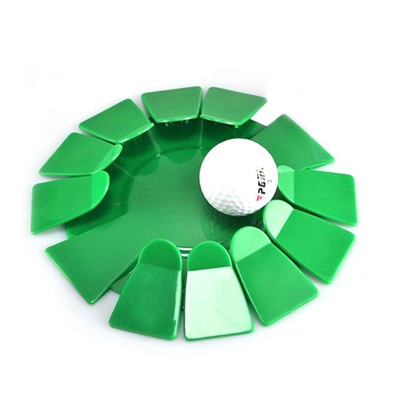 Suministros de Golf Plástico All-Dirección Poner Copa Aid Golf Práctica Formativ