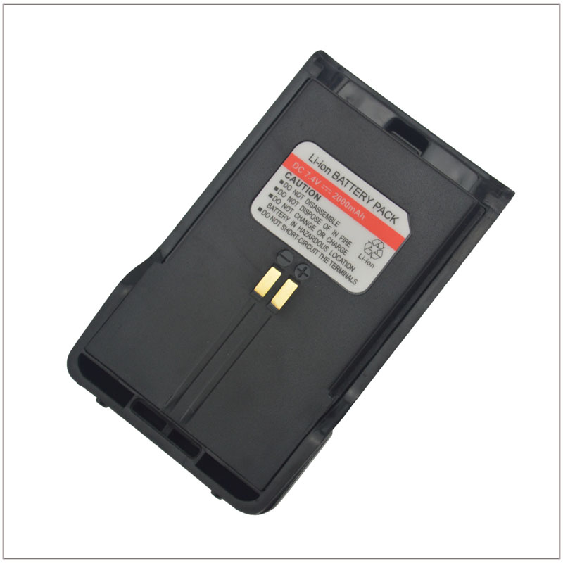 DC7.4V 2000mAh Li-ion Battery Pack With Belt Clip For YANTON GT-03 Portable Two-way Radio