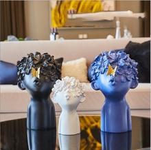 Полимерные фигурки и миниатюры Гостиная Современная Скульптура предметы домашнего обихода украшения дома аксессуары кофе орнамент