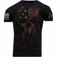 Grunt Style American Reaper 2.0 T Shirt Black Casual t shirt men