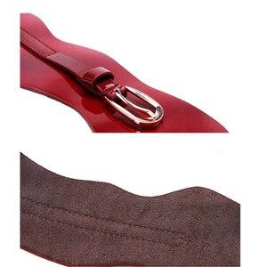 Image 5 - Maikun frauen Breite Gürtel für Frauen Gürtel Designer Marke Elastische Gürtel Hohe Qualität