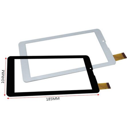 New 7 Tablet QCY 706 touch screen Touch panel Digitizer Glass Sensor replacement Free Shipping