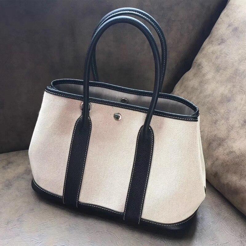 Haute Main Les Mode Dark Shouder Gray elephant black De À Qualité Gray Designer Femmes Pour khaki Sac Toile rncrZP70