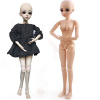 60cm BJD/SD 18 Jointed Makeup without Clothes Dolls Beautiful Dream Girls Toys KD Toys for Children's Gift