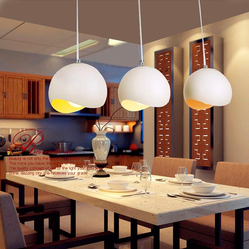 Aluminum Pendant Light Egg Led Hanging Lightings Home Deco