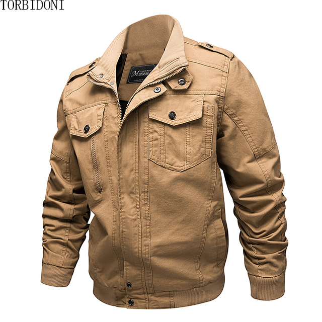 Autumn Pilot Jackets Military Bomber Jacket Men Winter New Cotton Jacket Coat 6XL Army Air Force Spring Cargo Jaqueta Masculina