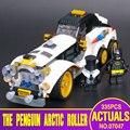 Новый Лепин 07047 305 Шт. Подлинная Бэтмен Серии Арктической Войны Пингвин Классический Набор Автомобиля Строительные Блоки Кирпичи Игрушки 70911