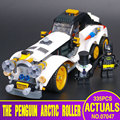 New Lepin 07047 305Pcs Genuine Batman Series The Arctic War Penguin Classic Car Set Building Blocks Bricks Toys 70911