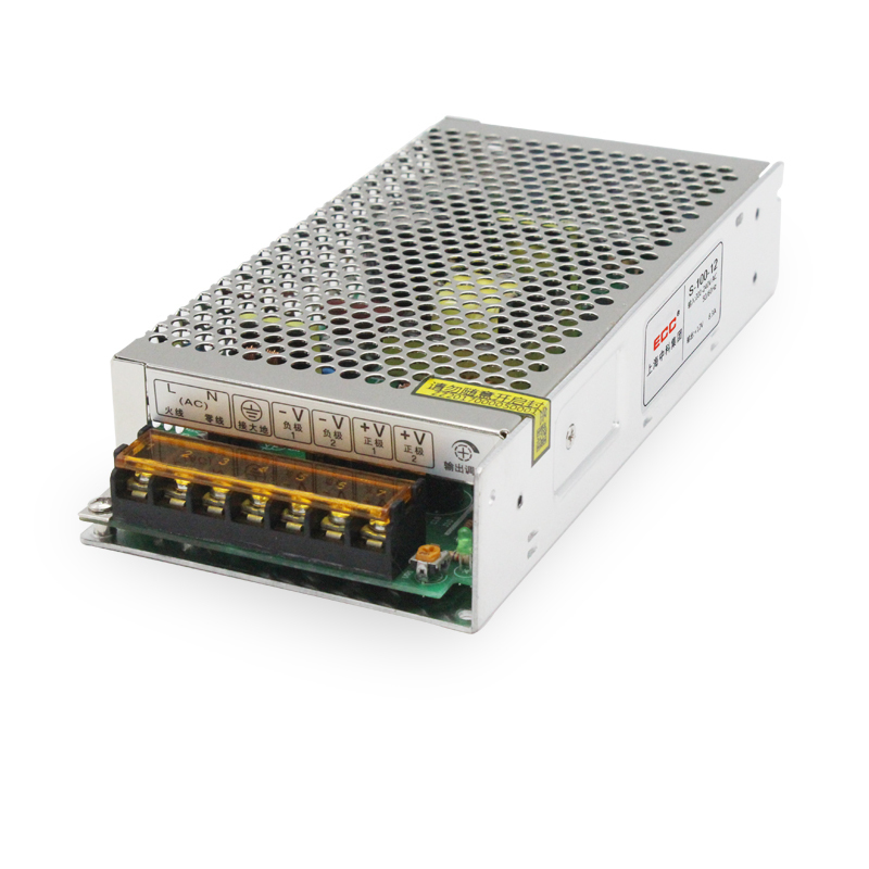 Switching Mode Power Supply S-100W-12V8.3A Monitor LED Camera AC220 Change Direct DC Heat Sell switching mode power supply s 250w 24v 10 4a foot power electric machinery fan monitor ac change dc package postal