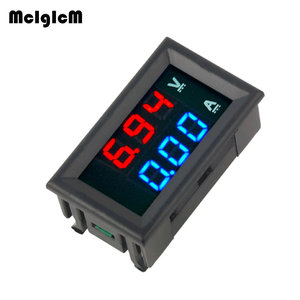 Image 1 - Ledアンプデュアルデジタル電圧計ゲージ 0.28 dc 0 100v 0 10Aデジタル電圧計電流計テスターvoltimetro ledデュアルディスプレイ
